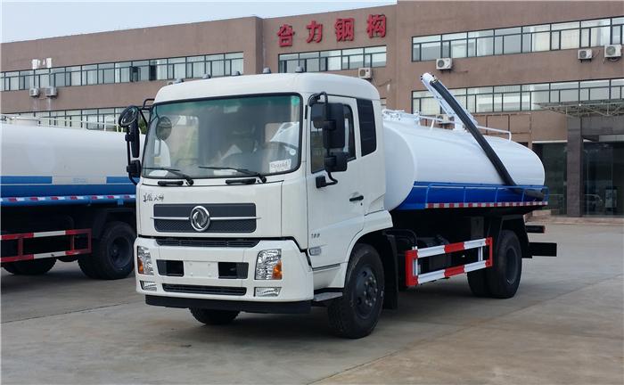 东风天锦12吨吸粪车